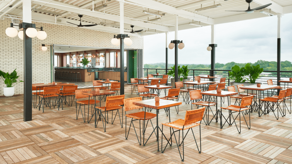 Rooftop Dining At The Durham Hotel