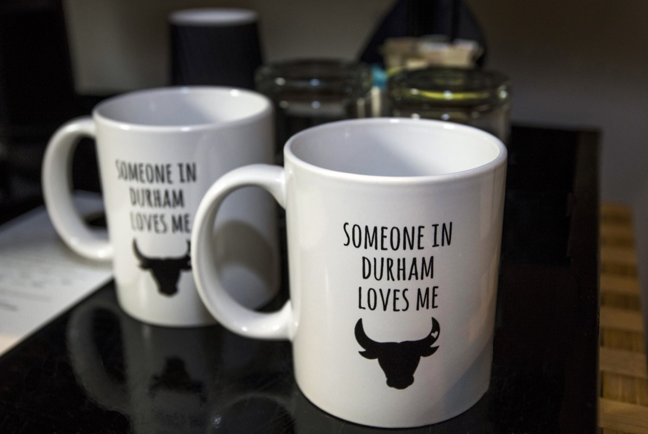 Durham Coffee mugs